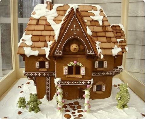 Gingerbead house