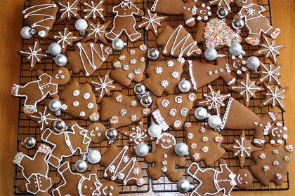 Xmas gingerbread cookies