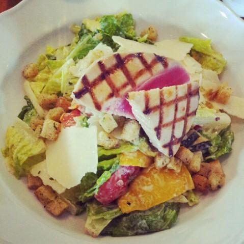 Bullandö krog tuna Caesar salad