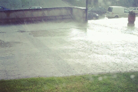 Rain, rain, pouring rain
