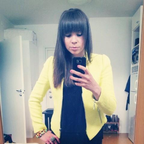 Lime/yellow jacket