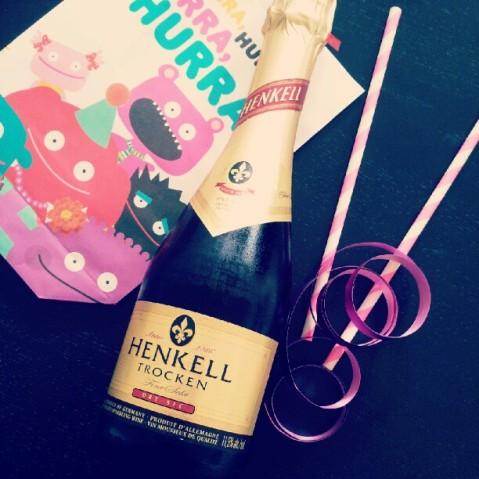 Champagne present
