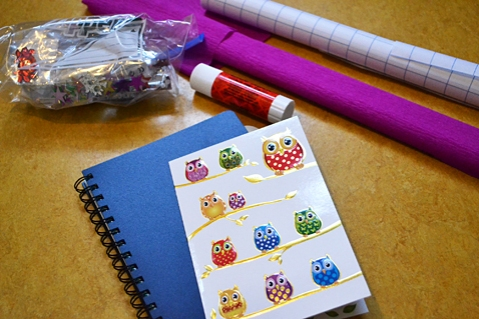 DIY Notebook craft