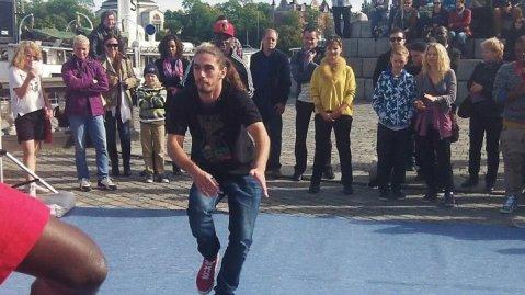 Stockholm city street dance artists