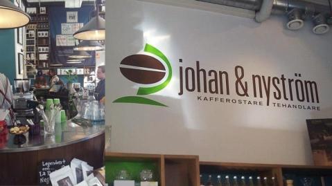 Johan & Nyström coffee shop Stockholm