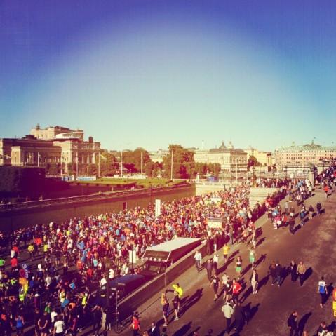 Stockholm DN half marathon