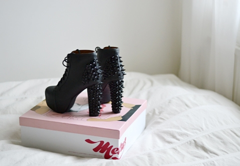 Jeffrey Campbell Lita Spike black