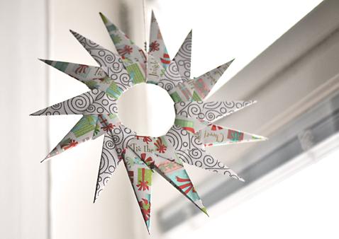 Diy Christmas Origami Star Ornament
