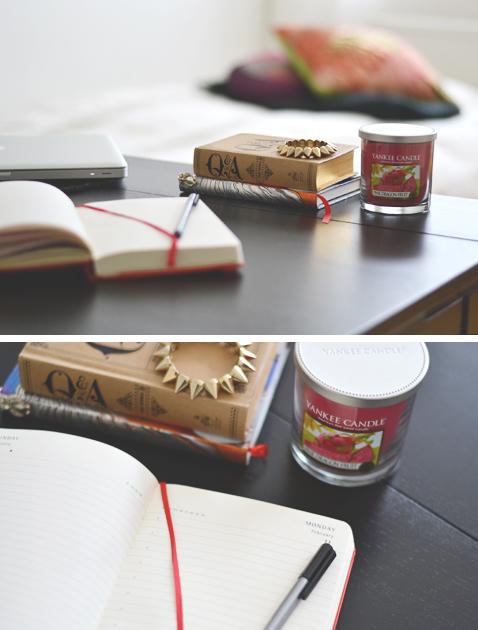 Journal, notebook, home